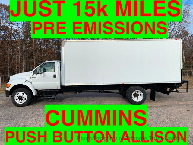 2007 Ford F750 15k MILES NON CDL 25,999 GVW ONE OWNER PRE EMISSION CUMMINS 3000 SERIES ALLISON
