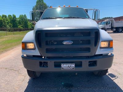 2007 Ford F750 LONG FLATBED JUST 34k MILES ONE OWNER PRE-EMISSION CUMMINS!! BIG ALLISON AUTO - Click to see full-size photo viewer