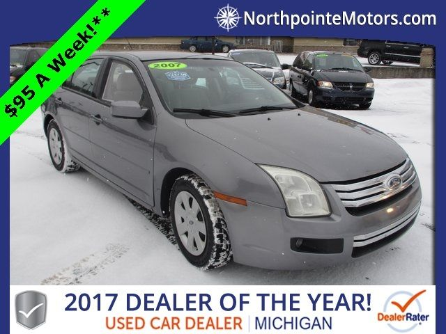 2007 Ford Fusion 4dr Sedan I4 SE FWD Sedan - 3FAHP07Z97R249836 - 0