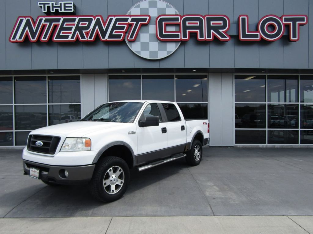"2007 Ford F-150 4WD SuperCrew 139"" FX4 - 18501251 - 0"