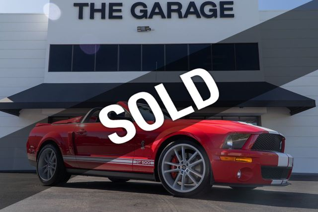2007 Ford Mustang 2dr Convertible Shelby GT500