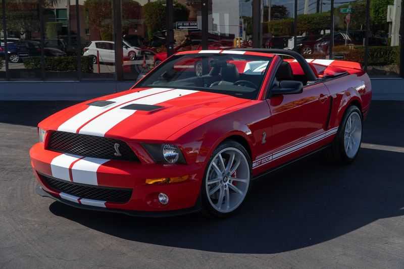 2007 Ford Mustang 2dr Convertible Shelby GT500 - Click to see full-size photo viewer