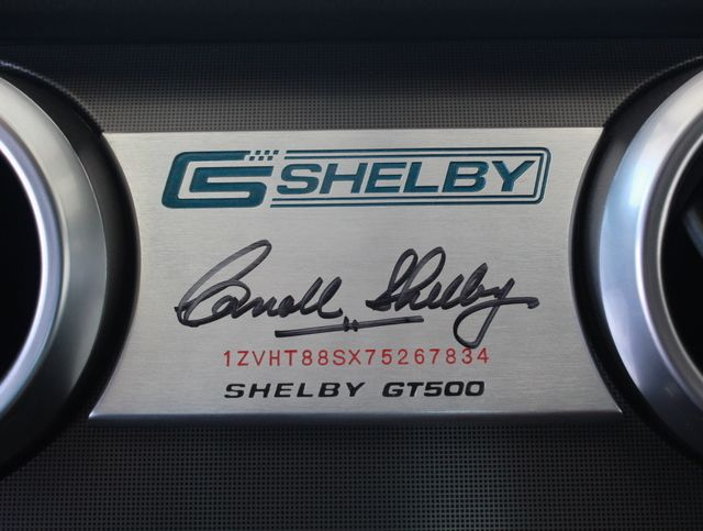 2007 Ford Mustang 2dr Coupe Shelby GT500 - Click to see full-size photo viewer