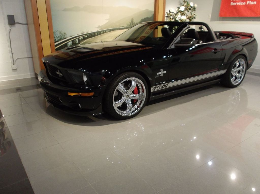 2007 Ford Mustang GT 500 Convertible 40th Anniversary 14k miles $85k plus invested - 18128923 - 1