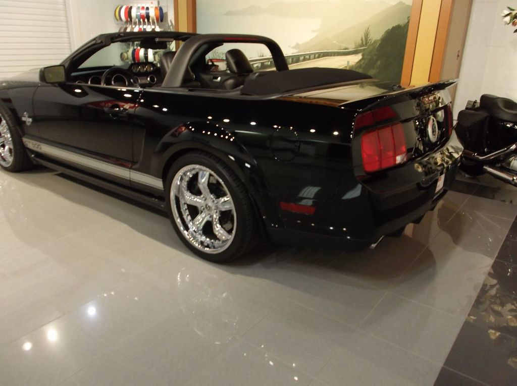 2007 Ford Mustang GT 500 Convertible 40th Anniversary 14k miles $85k plus invested - 18128923 - 2