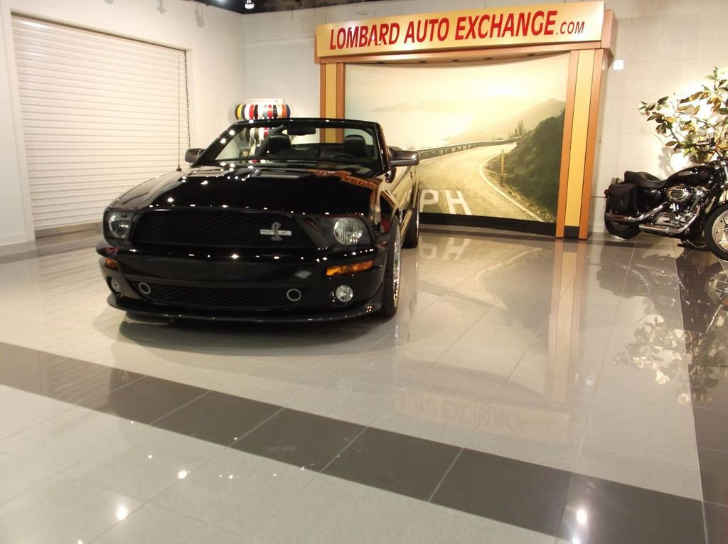 2007 Ford Mustang GT 500 Convertible 40th Anniversary 14k miles $85k plus invested - 18128923 - 3