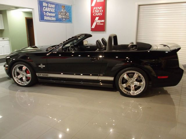 2007 Used Ford Mustang SHELBY Certified GT 500 Convertible ...