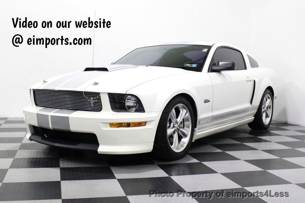 2007 Ford Mustang Shelby GT CERTIFIED SHELBY GT  - 18315050 - 0