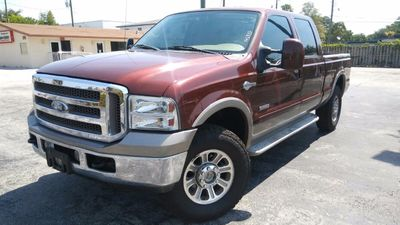 """2007 Ford Super Duty F-250 4WD Crew Cab 156"""" King Ranch Truck"""