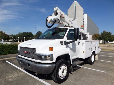 2007 GMC C5500 2007 GMC C5500 Bucket Truck w/Altec AT37G, V8 Turbo Diesel, A/T, - Click to see full-size photo viewer