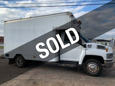 2007 GMC C-5500 13 FOOT ENCLOSED SERVICE TRUCK