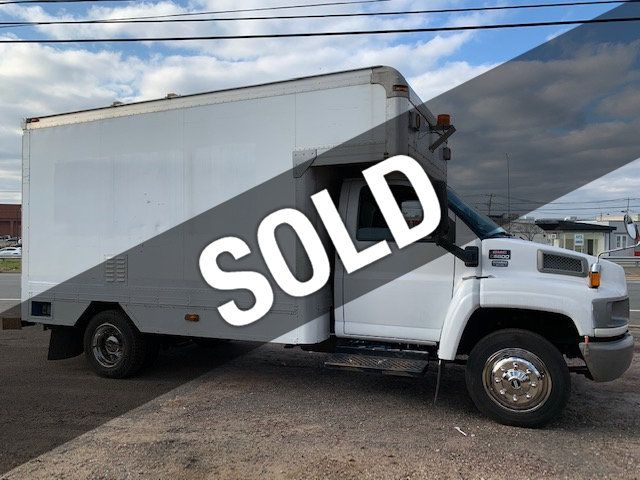 2007 GMC C-5500 13 FOOT ENCLOSED SERVICE TRUCK WITH OVERHANG - 18323353 - 0