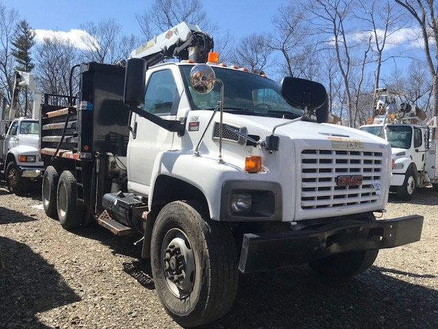 2007 GMC C-8500 TANDEM 10 YARD DUMP TRUCK WITH KNUCKLE BOOM CLAM SHELL BUCKET - 17549669 - 2