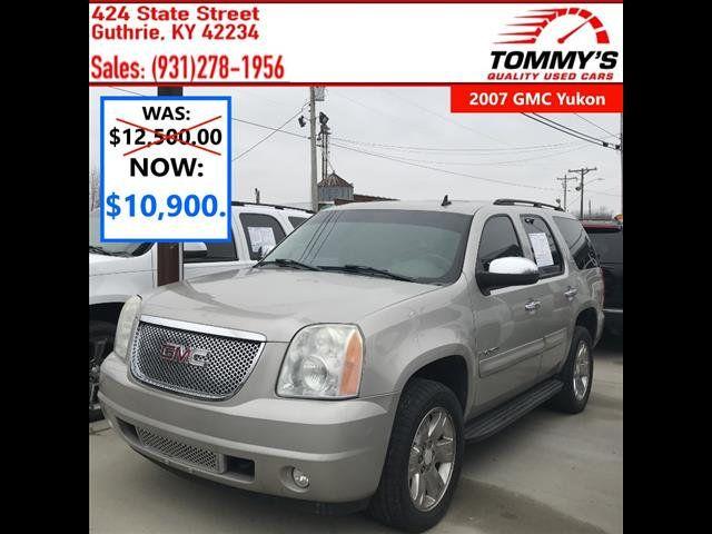 2007 GMC Yukon 4WD 4dr 1500 SLT - 18161588 - 0