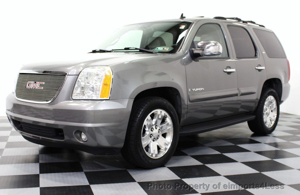 2007 used gmc yukon certified yukon slt 4wd 7 passenger. Black Bedroom Furniture Sets. Home Design Ideas