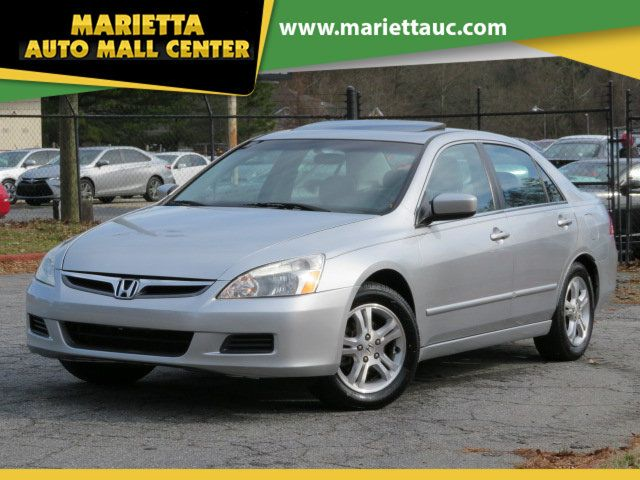 2007 Honda Accord Ex L >> 2007 Used Honda Accord Sedan 4dr I4 Automatic Ex L W Navi At Marietta Auto Mall Center Ga Iid 19725835