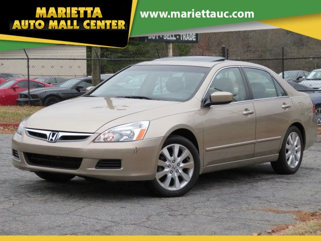 2007 Honda Accord Ex L >> 2007 Used Honda Accord Sedan 4dr V6 Automatic Ex L At Marietta Auto Mall Center Ga Iid 19647321