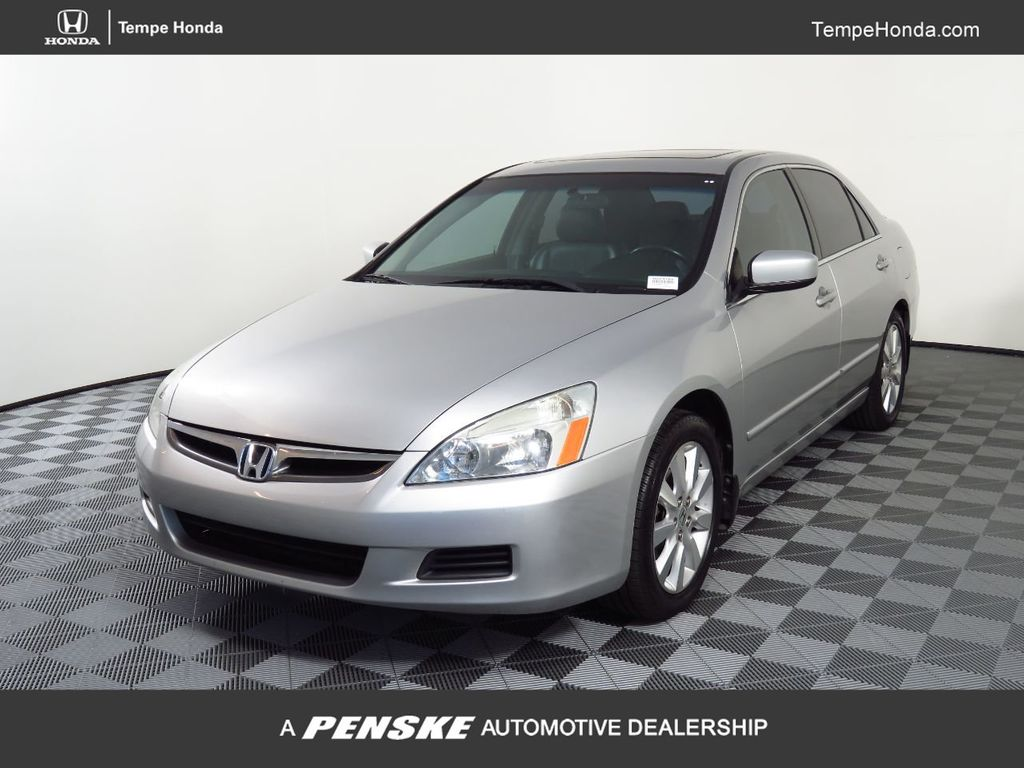 2007 Honda Accord Ex L >> 2007 Used Honda Accord Sedan 4dr V6 Automatic Ex L W Navi At Scottsdale Ferrari Serving Phoenix Az Iid 19630486