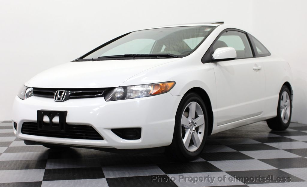 2007 used honda civic coupe 2dr automatic ex at eimports4less serving doylestown bucks county. Black Bedroom Furniture Sets. Home Design Ideas