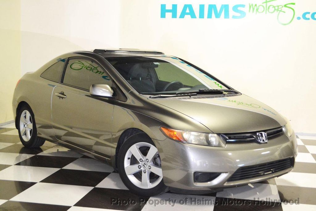 2007 Honda Civic Coupe 2dr Manual EX   13254529   2