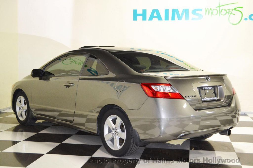 2007 used honda civic coupe 2dr manual ex at haims motors serving fort lauderdale hollywood. Black Bedroom Furniture Sets. Home Design Ideas
