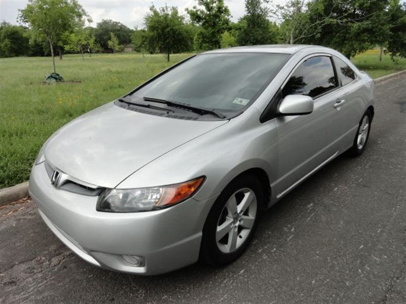 2007 Honda Civic Coupe EX Coupe   8614852   0