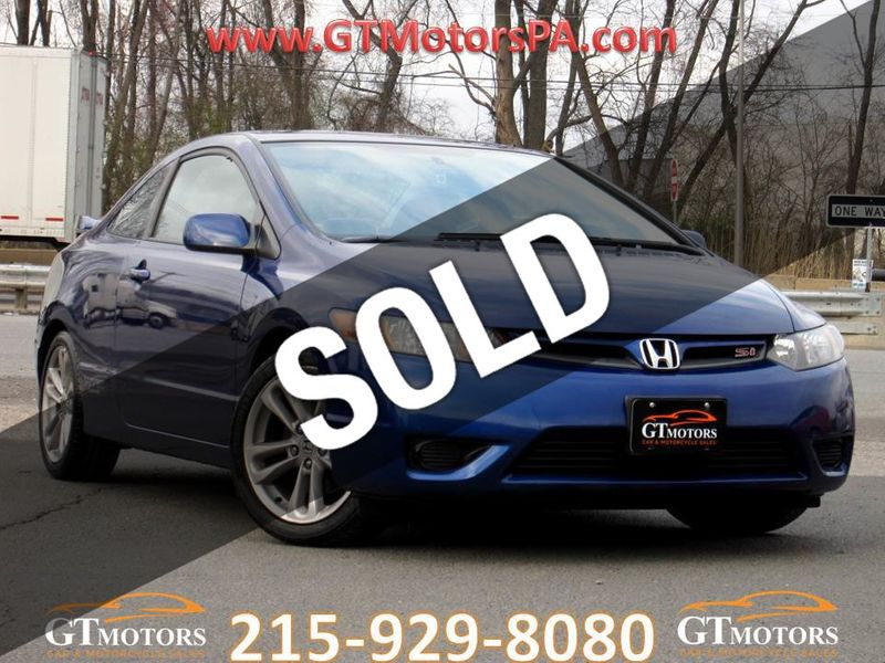2007 Honda Civic Si 2dr Coupe Manual w/Navi - 19926093 - 0