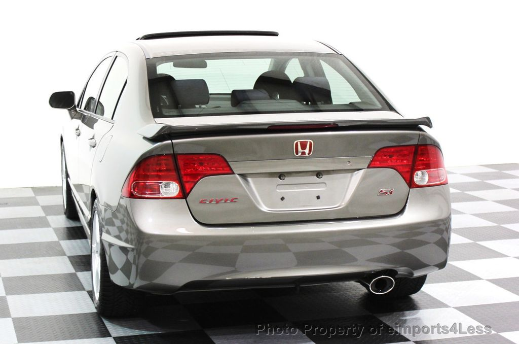 2007 Honda Civic Si 4dr Sedan Manual W/Navi   16437568   24