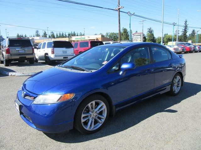 Used Honda Civic Si >> 2007 Used Honda Civic Si Si 4dr Sedan At Select Motors Auto Sales