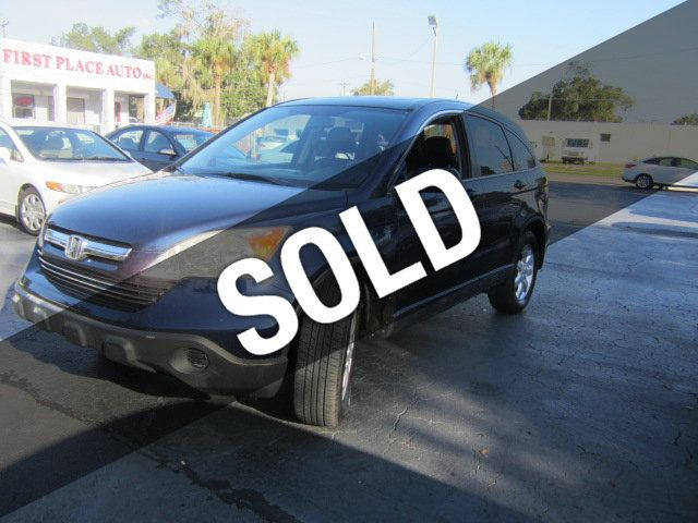 Used Cars Gainesville Fl >> 2007 Used Honda CR-V 4WD 5dr EX-L at First Place Auto ...