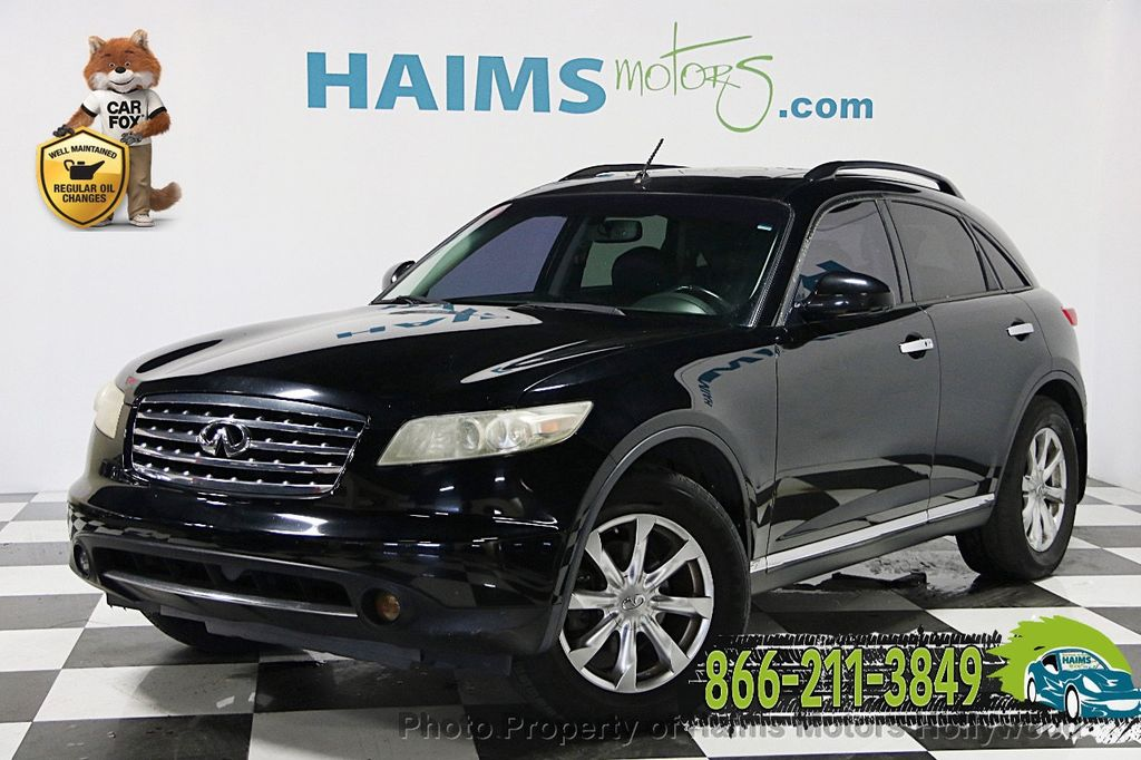 2007 used infiniti fx35 4dr 2wd at haims motors serving for South motors infiniti used cars