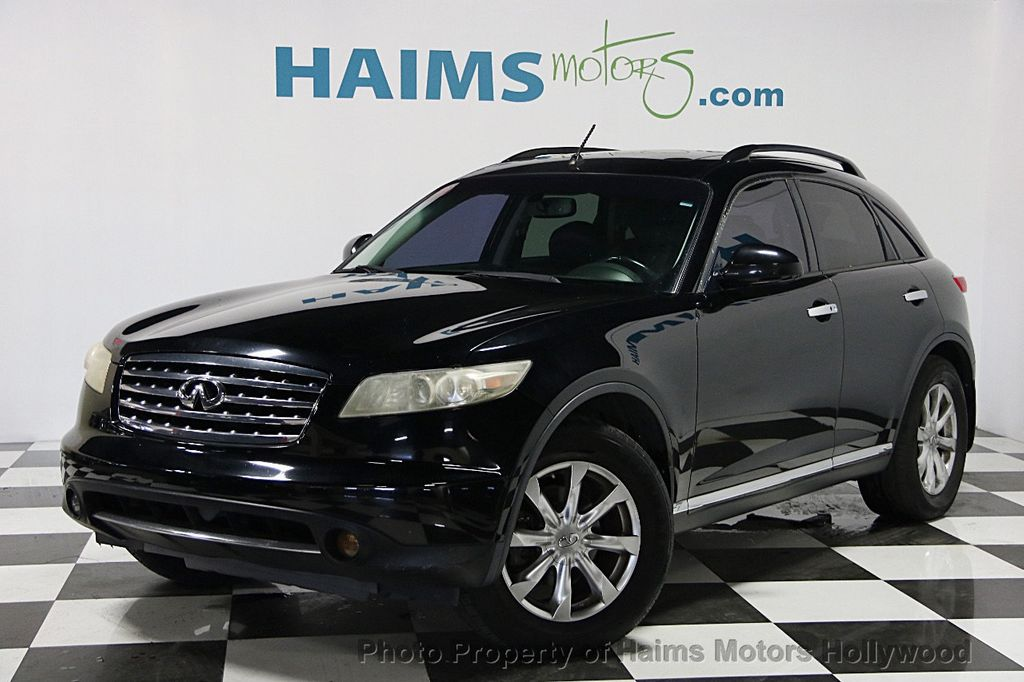 2007 Used Infiniti Fx35 4dr 2wd At Haims Motors Serving