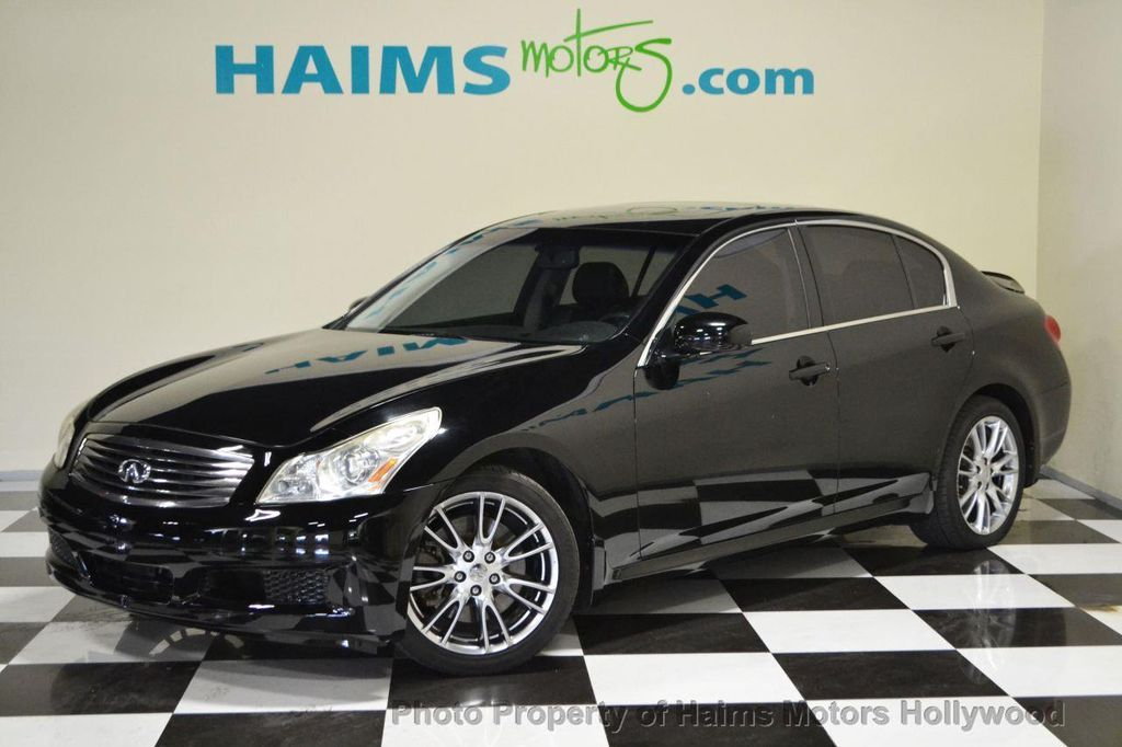 2007 used infiniti g35 sedan 4dr automatic rwd at haims. Black Bedroom Furniture Sets. Home Design Ideas