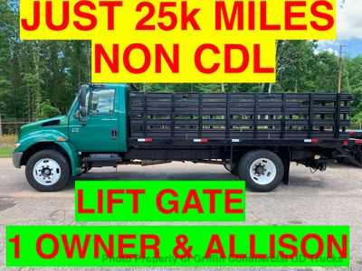 2007 International NON CDL JUST 25k MILES LIFT GATE ONE OWNER SC TRUCK!! PRE-EMISSIONS