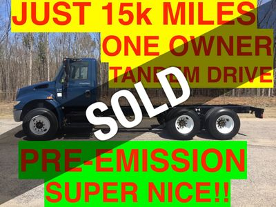 2007 International TANDEM CHASSIS JUST 15k MILES PRE-EMISSION DIESEL ONE OWNER NC TRUCK!! SUPER CLEAN!!
