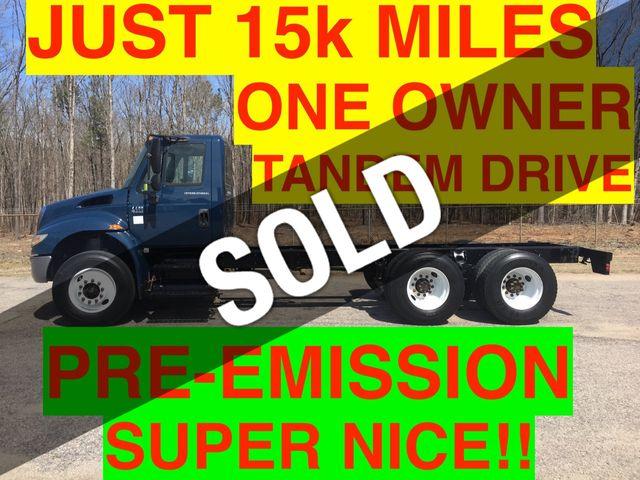 2007 International TANDEM CHASSIS JUST 15k MILES PRE-EMISSION DIESEL ONE OWNER NC TRUCK!! SUPER CLEAN!!