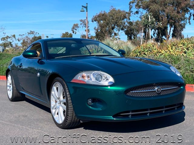 2007 Jaguar XK  COUPE  - Click to see full-size photo viewer