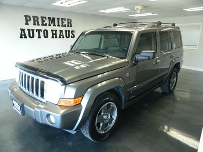 2007 Jeep Commander 2007 JEEP COMMANDER 4WD SPORT W/THIRD ROW LEATHER ROOF 4X4 SUV