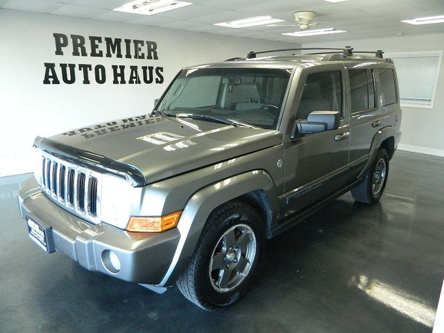 2007 Jeep Commander 2007 JEEP COMMANDER 4WD SPORT W/THIRD ROW LEATHER ROOF 4X4