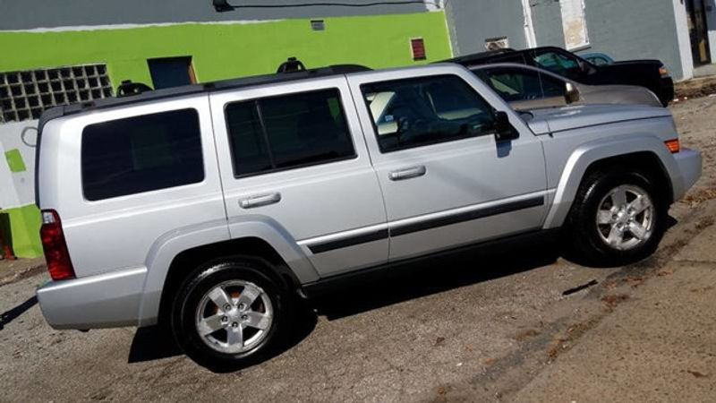 Jeep 3Rd Row >> 2007 Used Jeep Commander 4x4 Sport 3rd Row At Contact Us Serving Cherry Hill Nj Iid 16094718