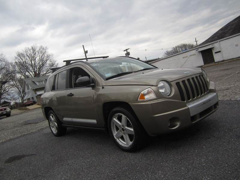 2007 used jeep compass 4x4 limited auto at contact us. Black Bedroom Furniture Sets. Home Design Ideas