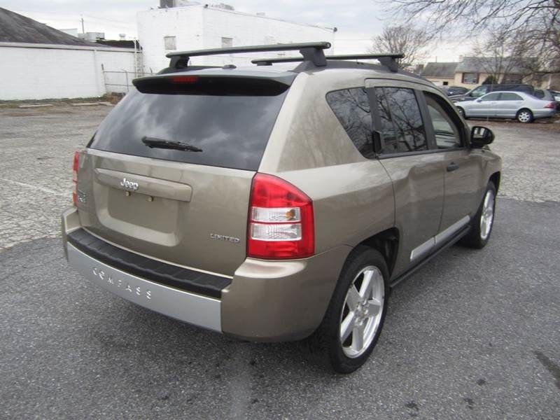 2007 Used Jeep Compass 4x4 Limited Auto At Contact Us Serving