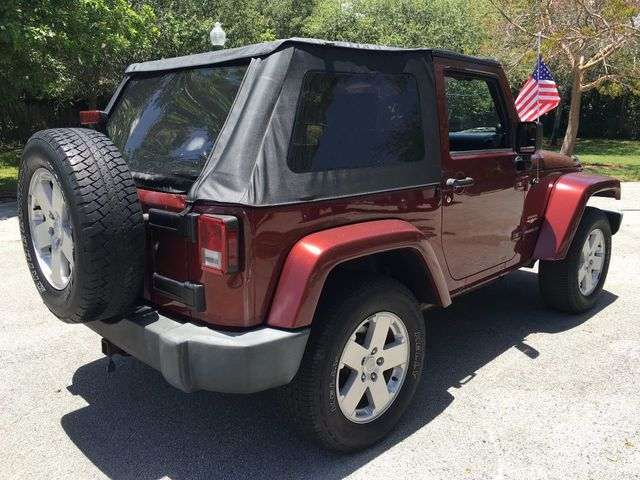 2007 Jeep Wrangler 4WD 2dr Sahara - Click to see full-size photo viewer