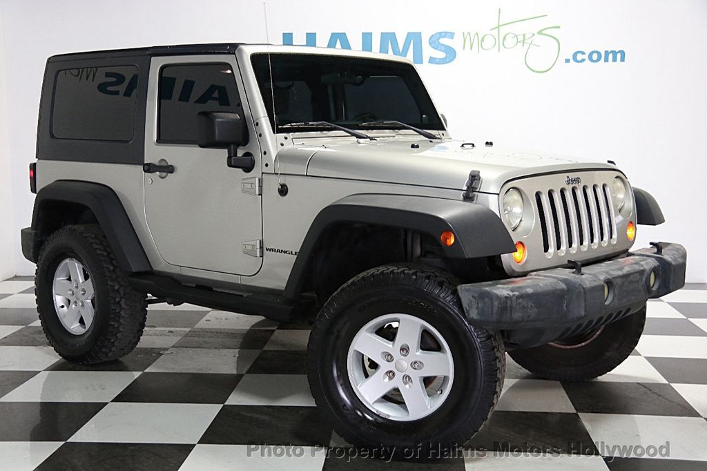 2007 used jeep wrangler 4wd 2dr x at haims motors serving fort lauderdale hollywood miami fl. Black Bedroom Furniture Sets. Home Design Ideas