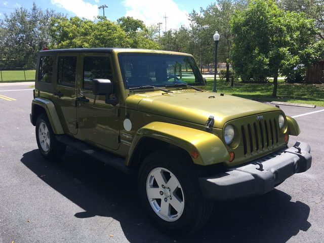 2007 Jeep Wrangler 4WD 4dr Unlimited Sahara - Click to see full-size photo viewer