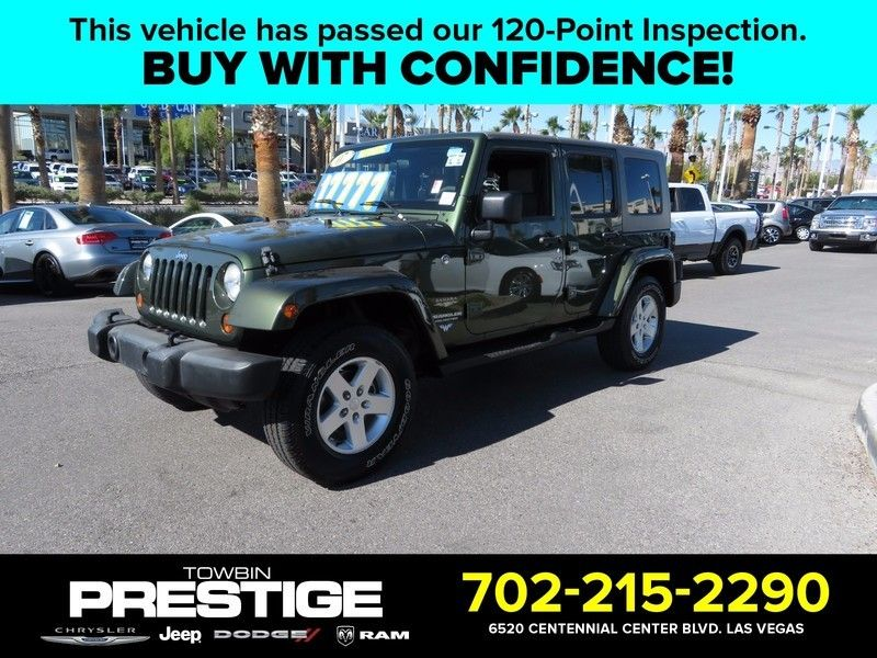 2007 Jeep Wrangler 4WD 4dr Unlimited Sahara - 16844288 - 0