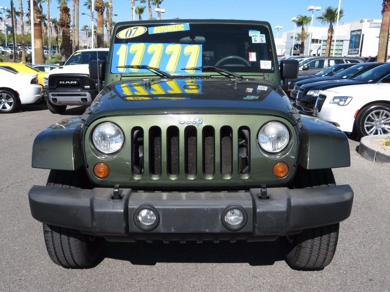 2007 Jeep Wrangler 4WD 4dr Unlimited Sahara - 16844288 - 1