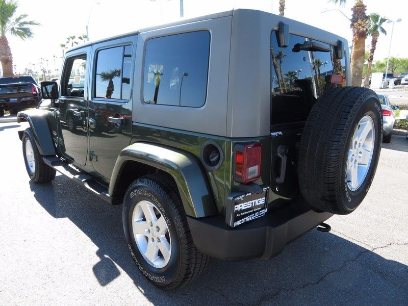 2007 Jeep Wrangler 4WD 4dr Unlimited Sahara - 16844288 - 6