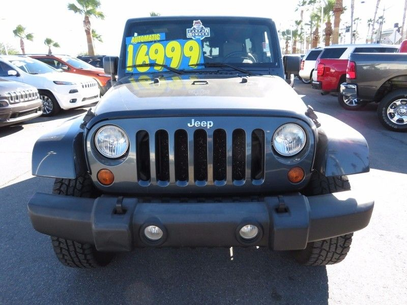2007 Jeep Wrangler 4WD 4dr Unlimited Sahara - 17104136 - 1