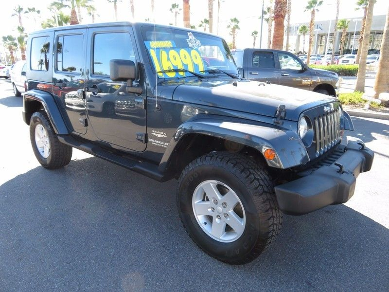 2007 Jeep Wrangler 4WD 4dr Unlimited Sahara - 17104136 - 2